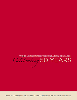 WCER Celebrating 50 Years brochure