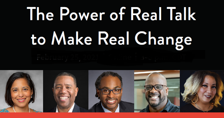 Check out video of 'Real Talk for Real Change' expert panel discussing issues of race, equity