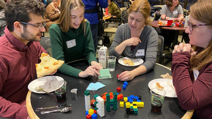 Local educators learn latest ways to teach using guided play