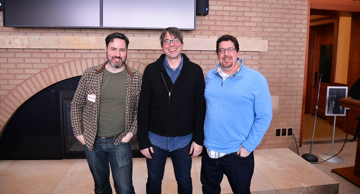 Recently three local leaders of the growing learning games community presented on campus. Filament Games Co-Founder Dan Norton, and the university's David Gagnon, Field Day Lab, and Mike Beall, Gear Learning, all began their careers in UW–Madison research groups.