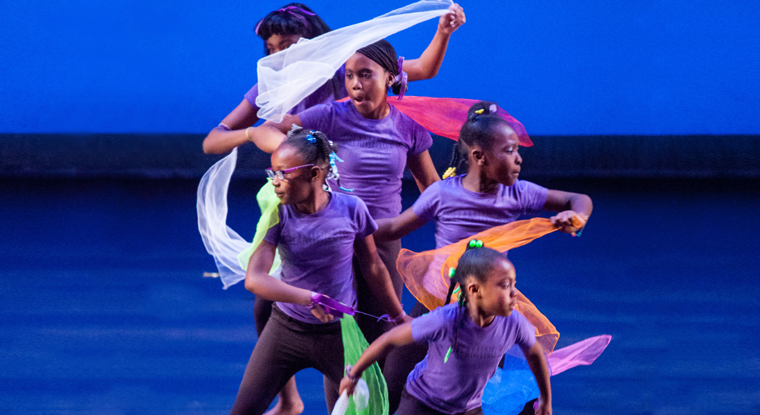 A unique dance program combines dance education & movement therapy to empower underserved girls in Madison.