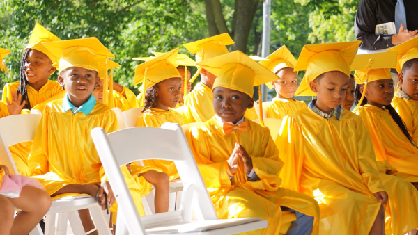 One City Schools celebrates the achievements of their young students with graduation ceremonies.