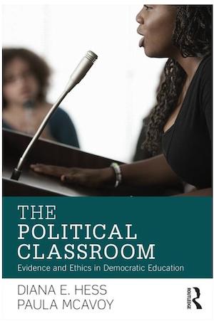 The Political Classroom won the 2016 AERA Outstanding Book Award